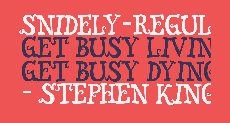 Snidely-Regular