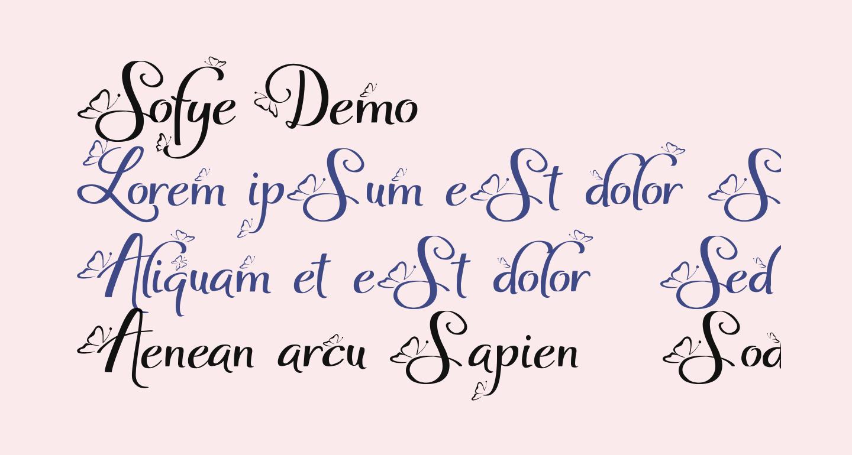 Sofye Demo