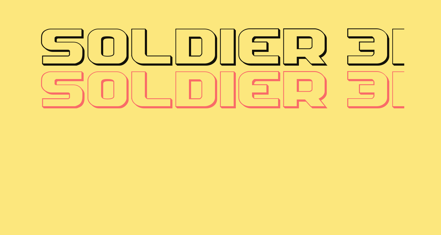 Soldier 3D Expanded