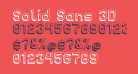 Solid Sans 3D