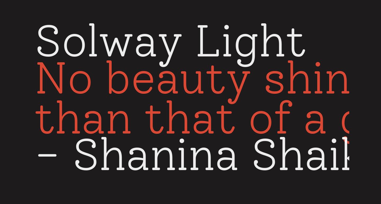 Solway Light