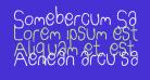 Somebercum Sans Serif