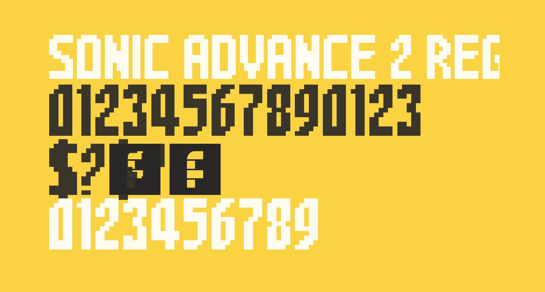 Sonic Advance 2 Regular