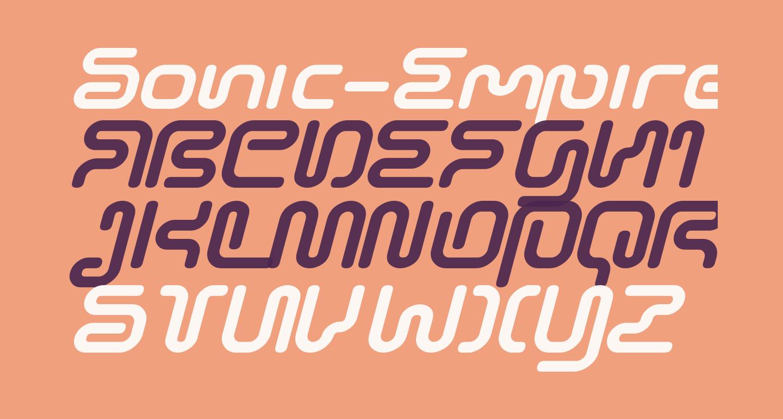 Sonic-Empire-Italic