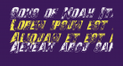 Sons of Noah Italic