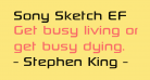 Sony Sketch EF
