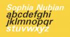 Sophia Nubian Bold Italic