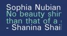 Sophia Nubian