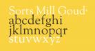 Sorts Mill Goudy Regular