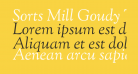 Sorts Mill Goudy TT Italic