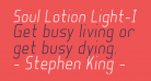 Soul Lotion Light-Italic