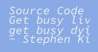 Source Code Pro Italic
