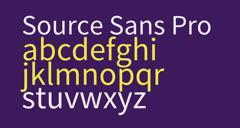 Source Sans Pro