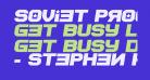 Soviet Program Bold Italic