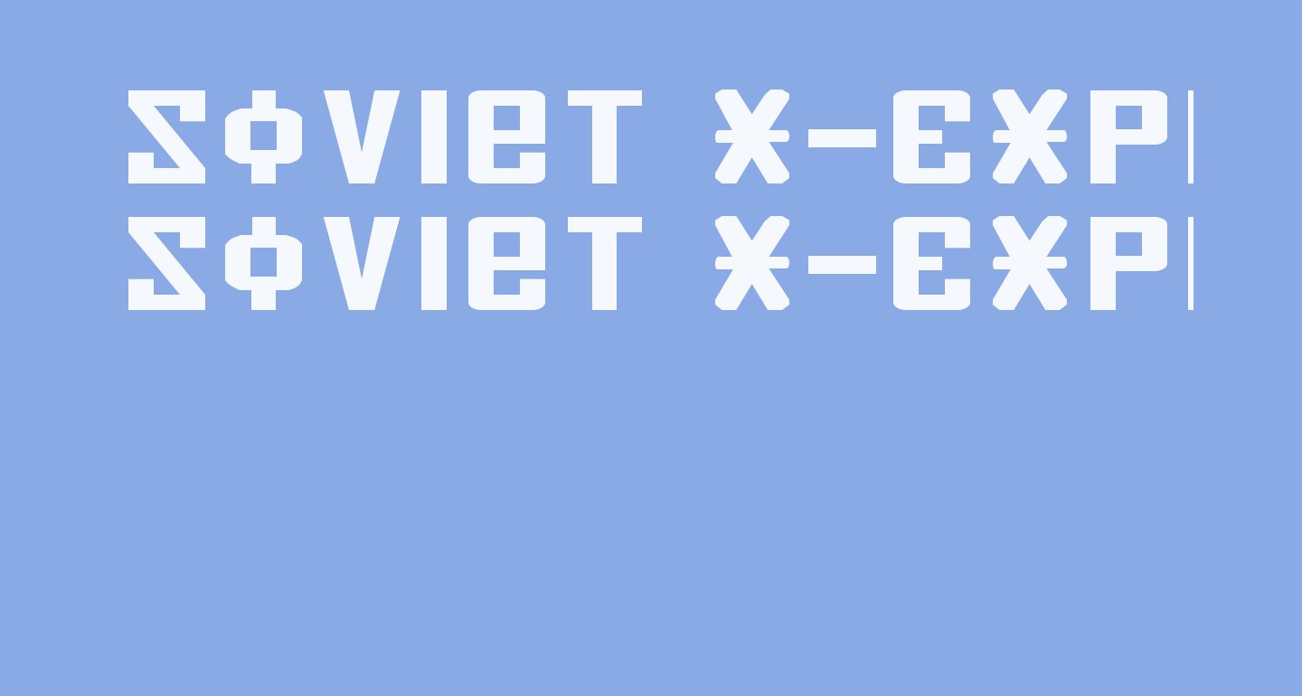 Soviet X-Expanded