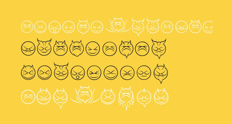 somedevilfaces-Regular