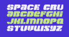 Space Cruiser Expanded Italic