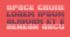 Space Cruiser Scanlines
