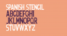 Spanish Stencil