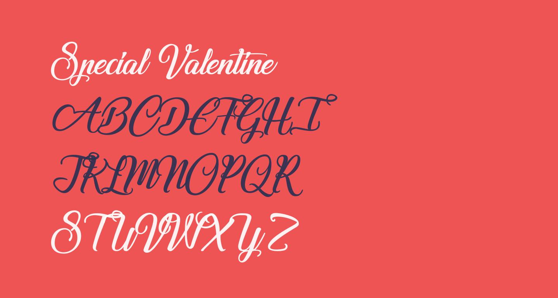 Special Valentine