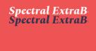 Spectral ExtraBold Italic