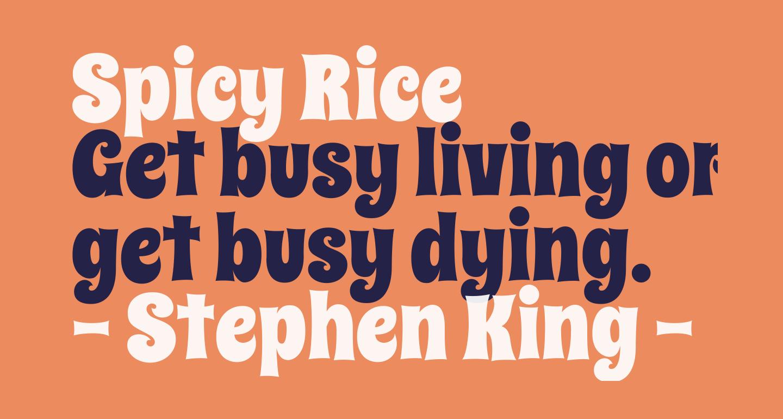 Spicy Rice