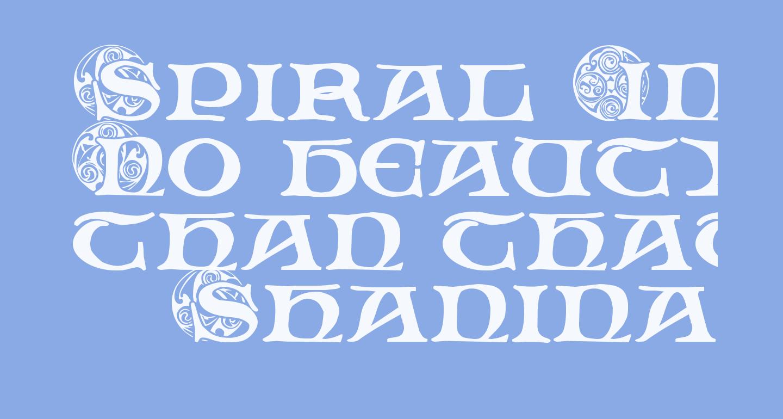 Spiral Initials