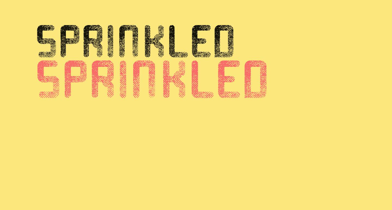 Sprinkled