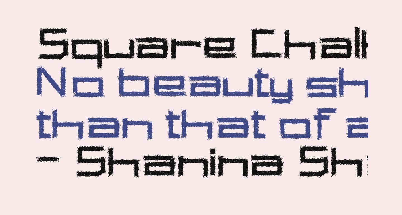 Square Chalk
