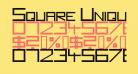 Square Unique Normal
