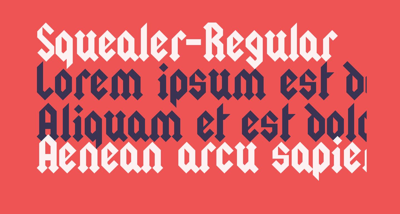 Squealer-Regular