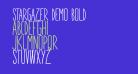 STARGAZER demo Bold