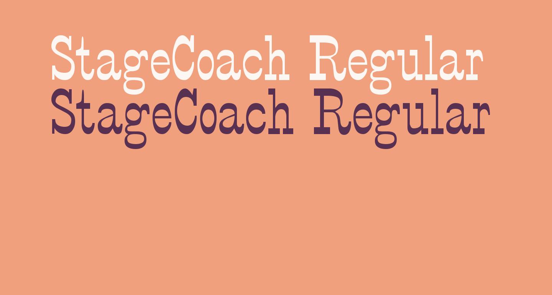 StageCoach Regular