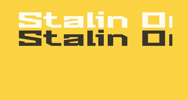 Stalin One