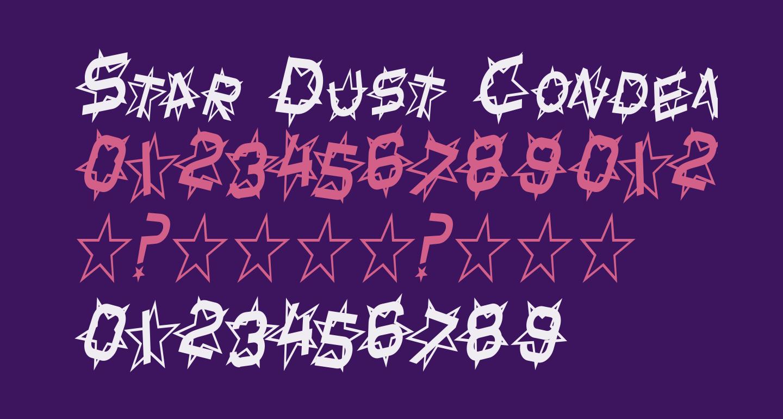 Star Dust Condensed Italic