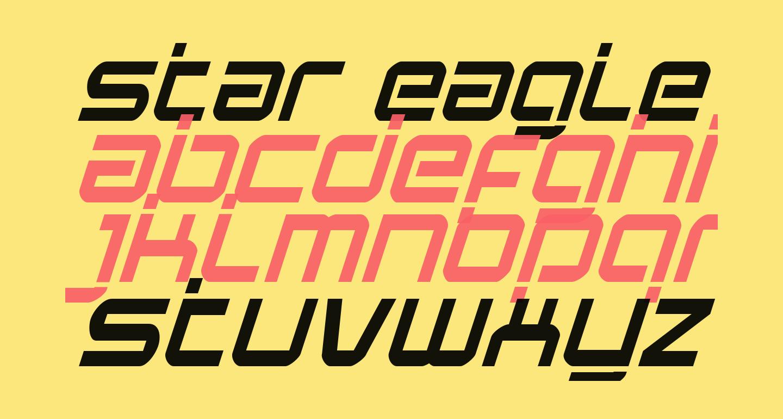 Star Eagle Laser Italic