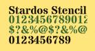Stardos Stencil Bold