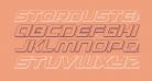 Starduster 3D Italic