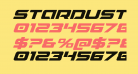 Starduster Expanded Italic