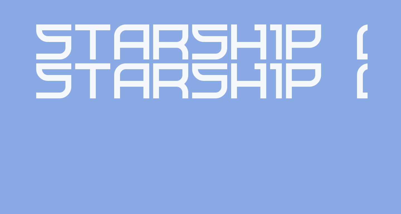 Starship One Regular
