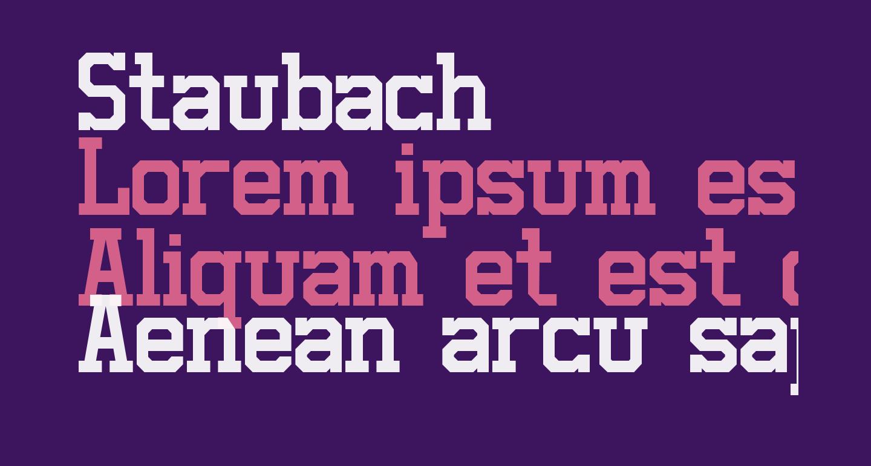 Staubach