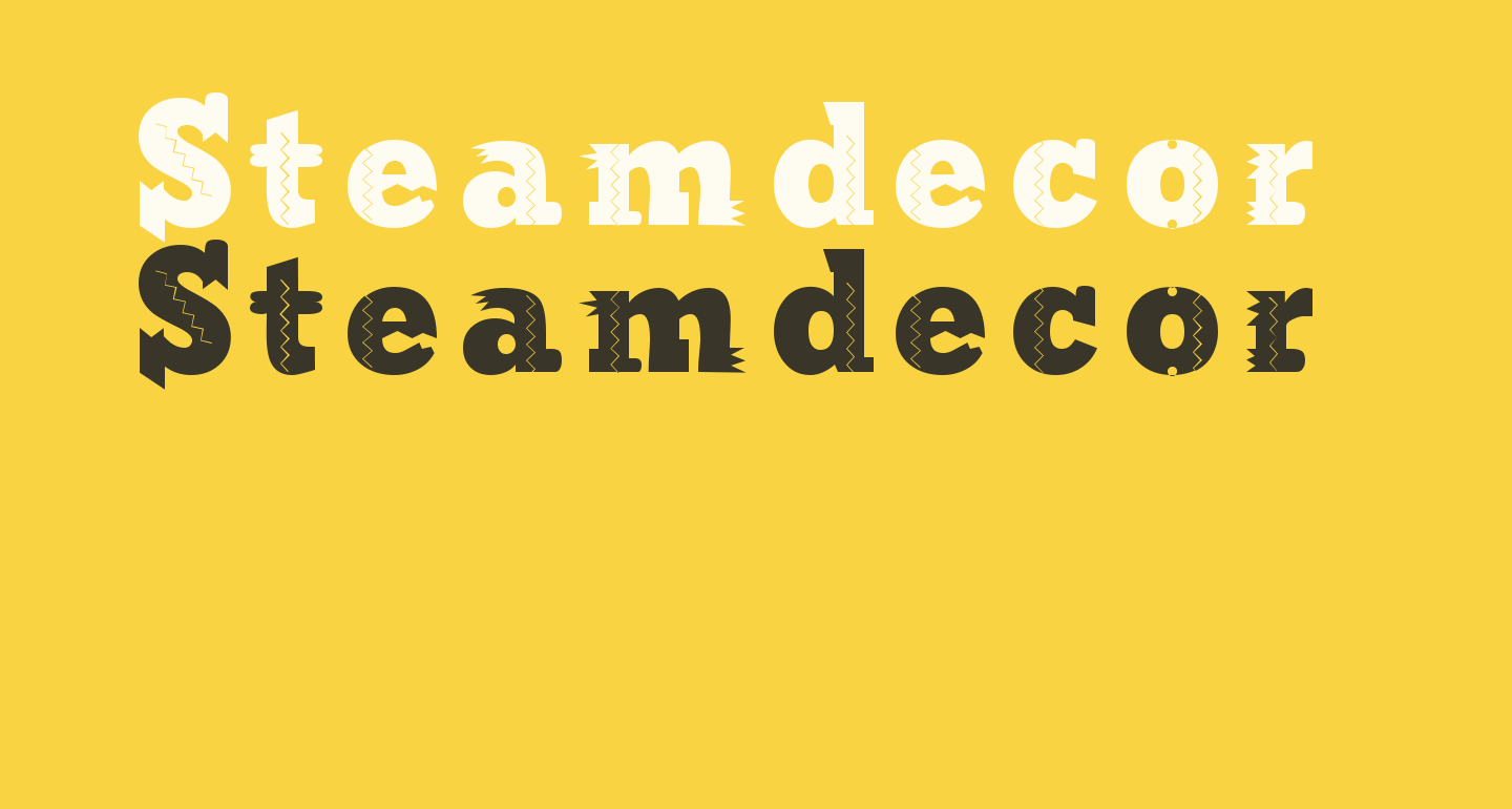 Steamdecor Regular