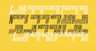 SteelTongs Italic