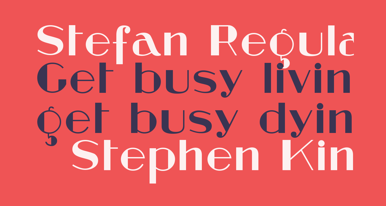 Stefan Regular