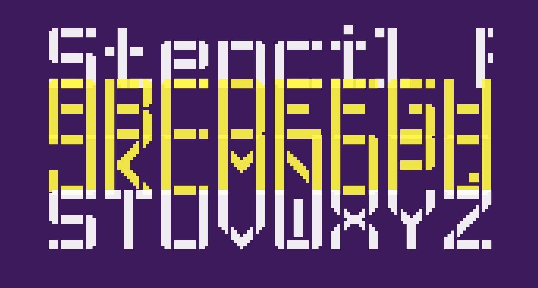 Stencil Pixel-7