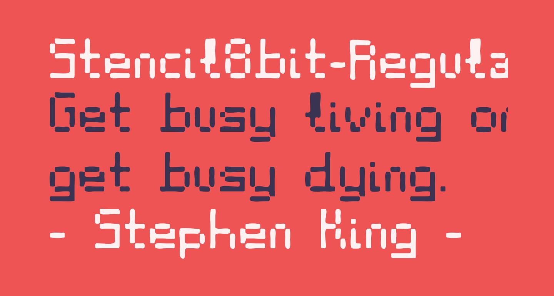 Stencil8bit-Regular