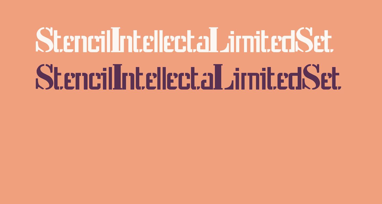 StencilIntellectaLimitedSet