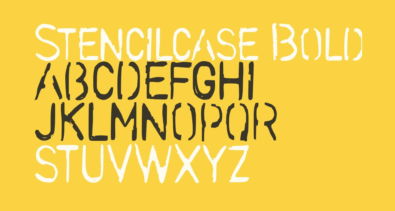 Stencilcase Bold
