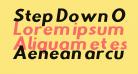Step Down Oblique