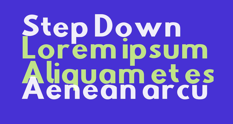 Step Down